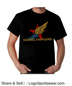 Homolympians Insane T-Shirt Design Zoom